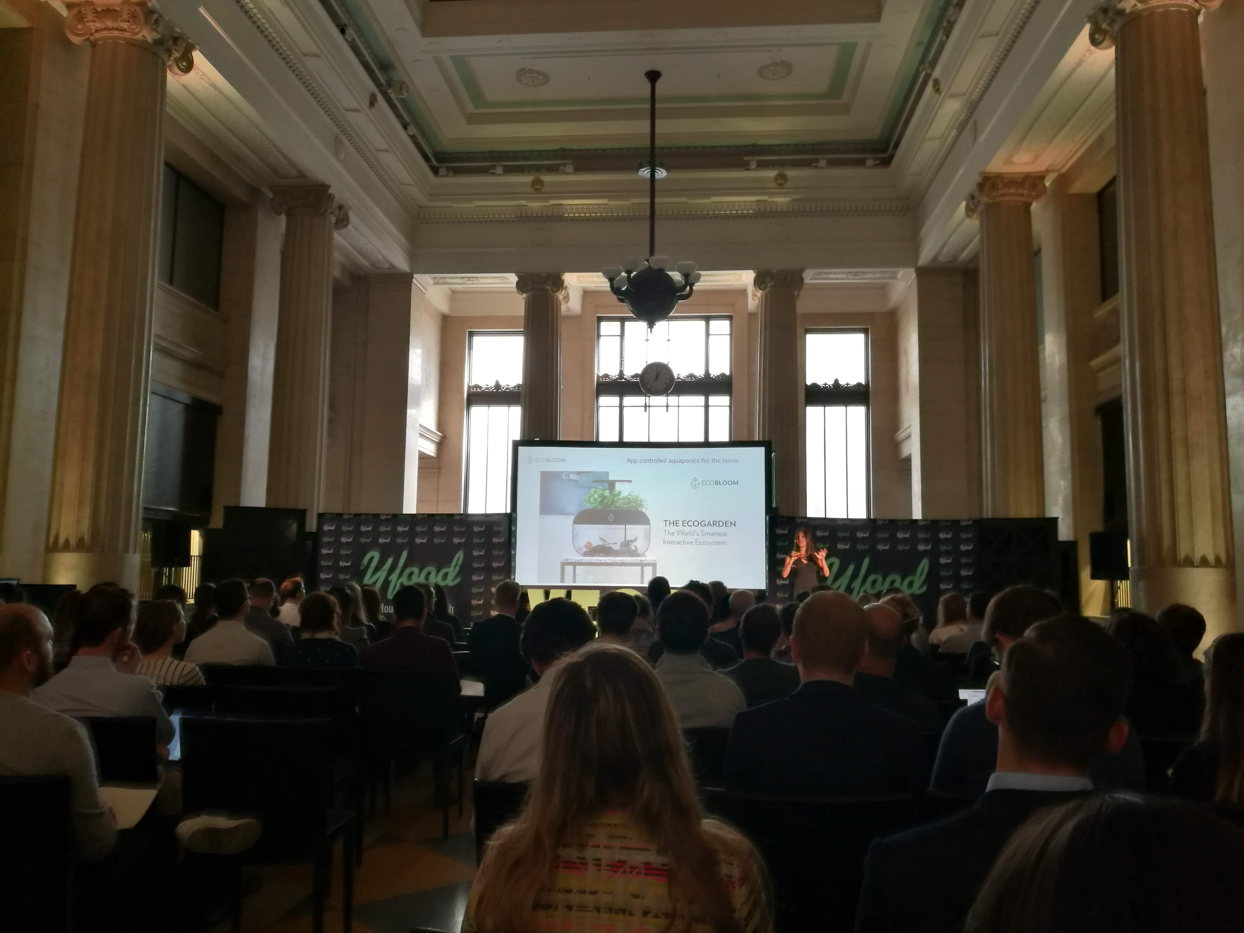 Pitch Stage at London Food Tech Week