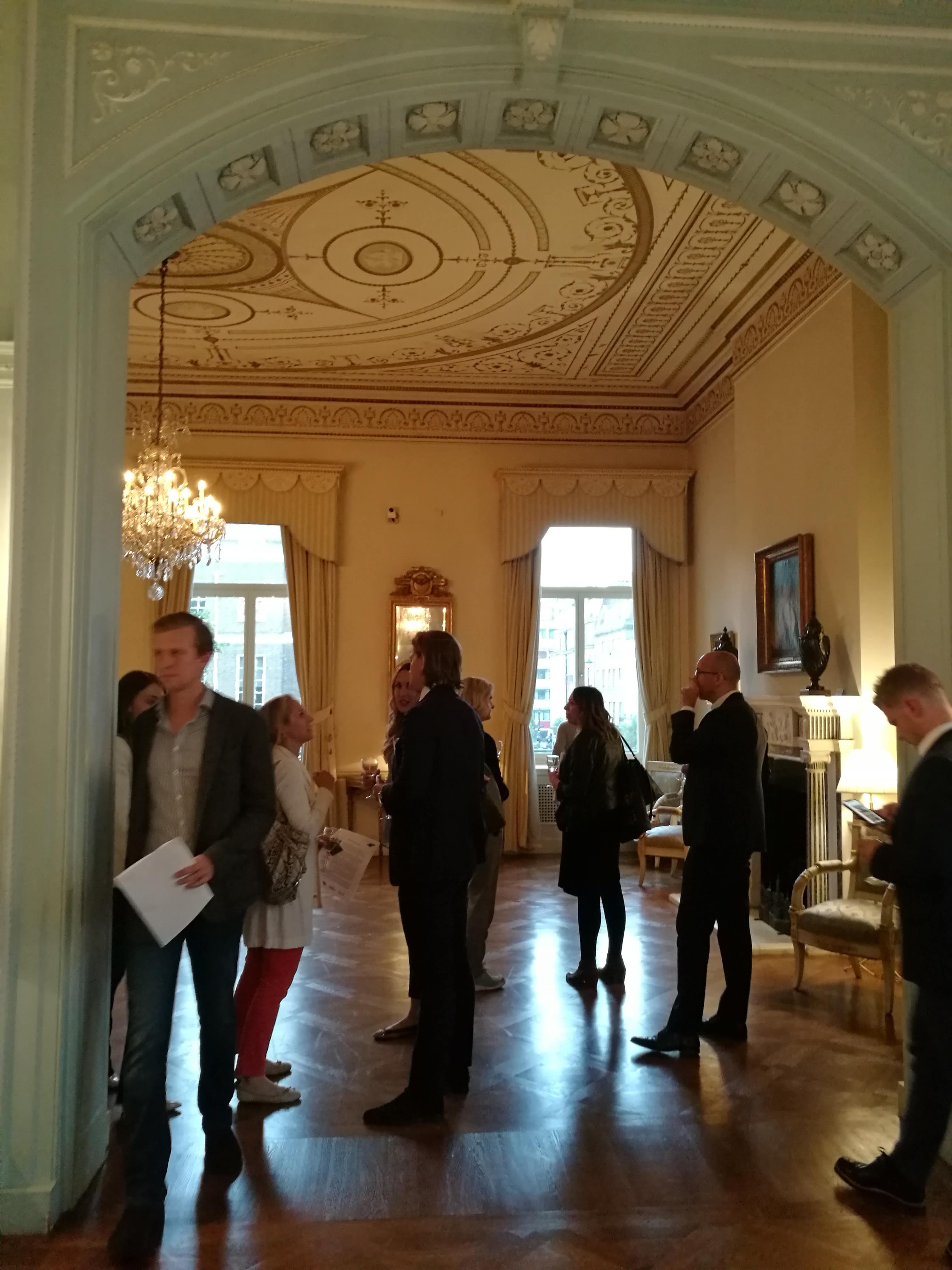 Ambassador's residence at London FoodTech Week