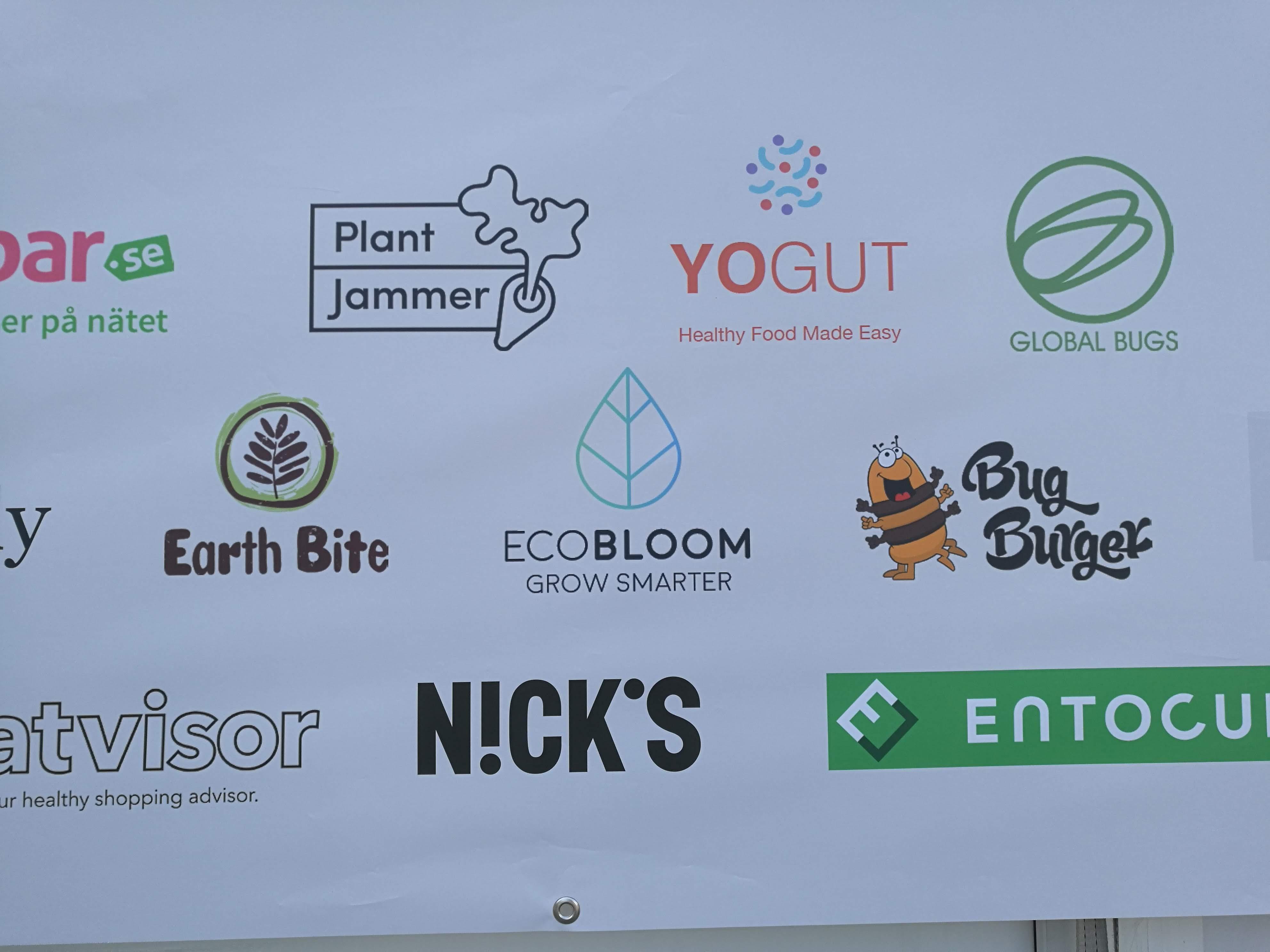 EcoBloom logo at Smaka på Stockholm