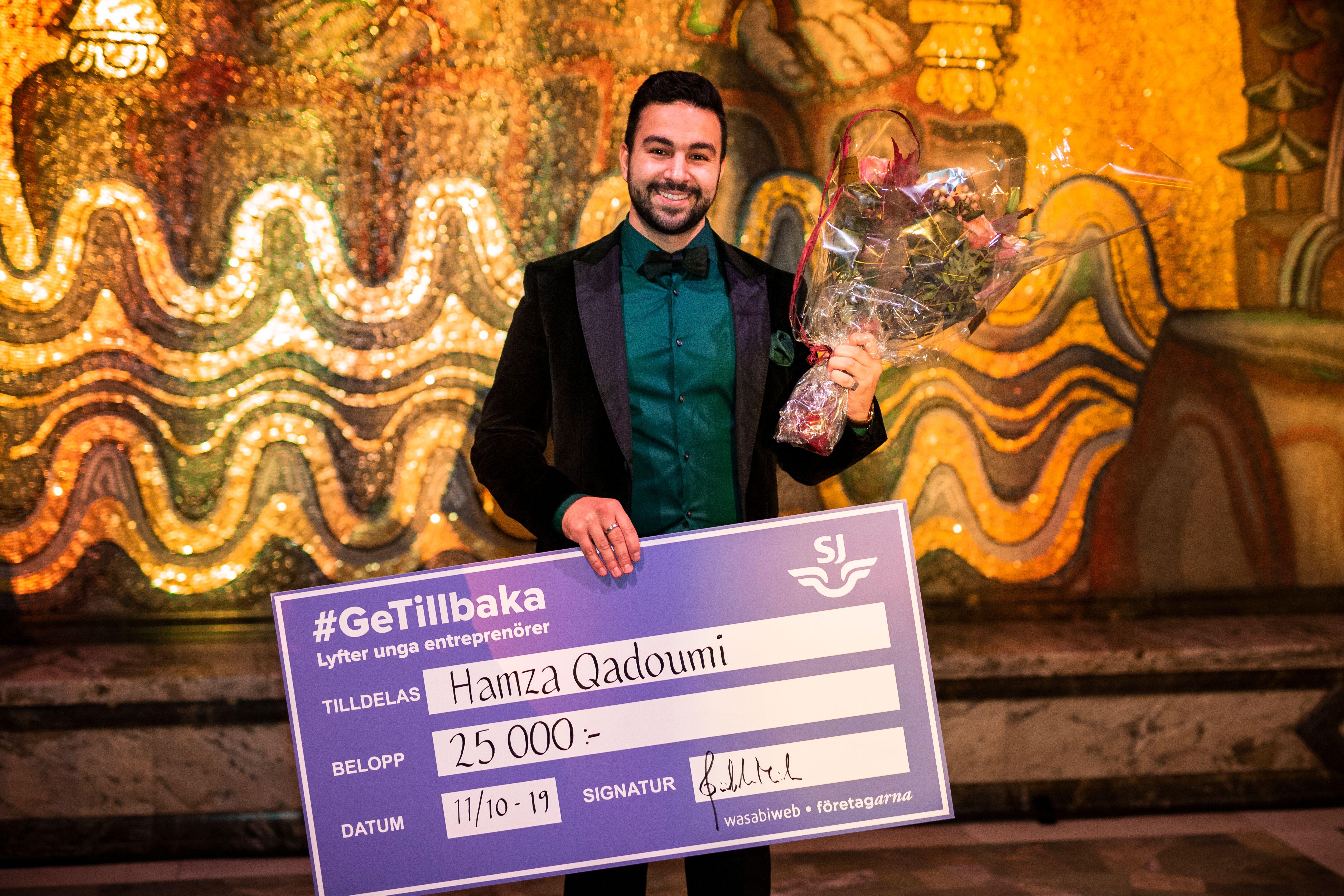hamza sweden's young entrepreneur