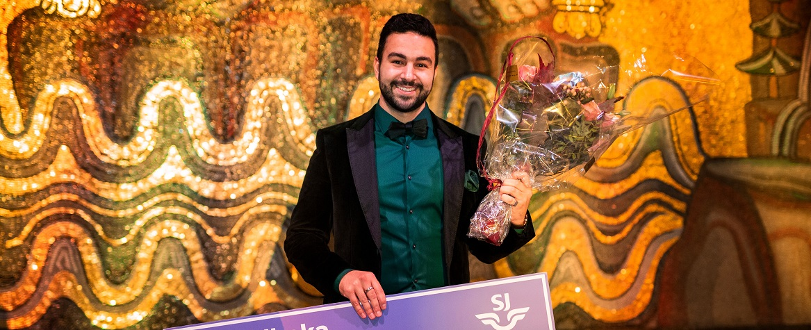Hamza and Ecobloom Win Swedish Entrepreneurship Prize!
